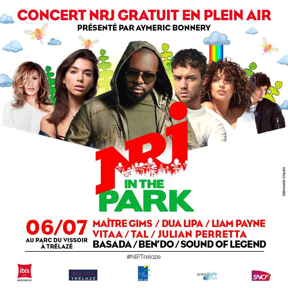 "40 000 auditeurs attendus au ""NRJ in the Park"""