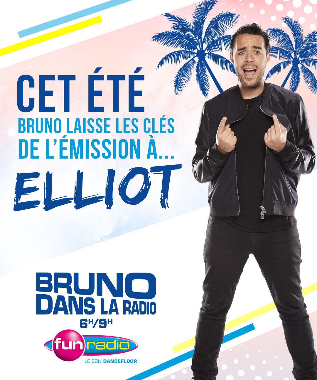 Elliot nouveau patron du Morning de Fun Radio