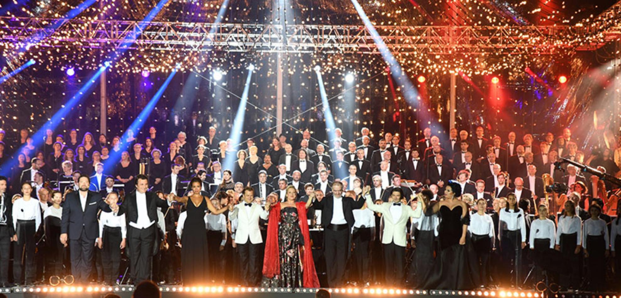 Le Concert de Paris du 14 juillet au Champ-de-Mars à Paris © Christophe Abramowitz / Radio France