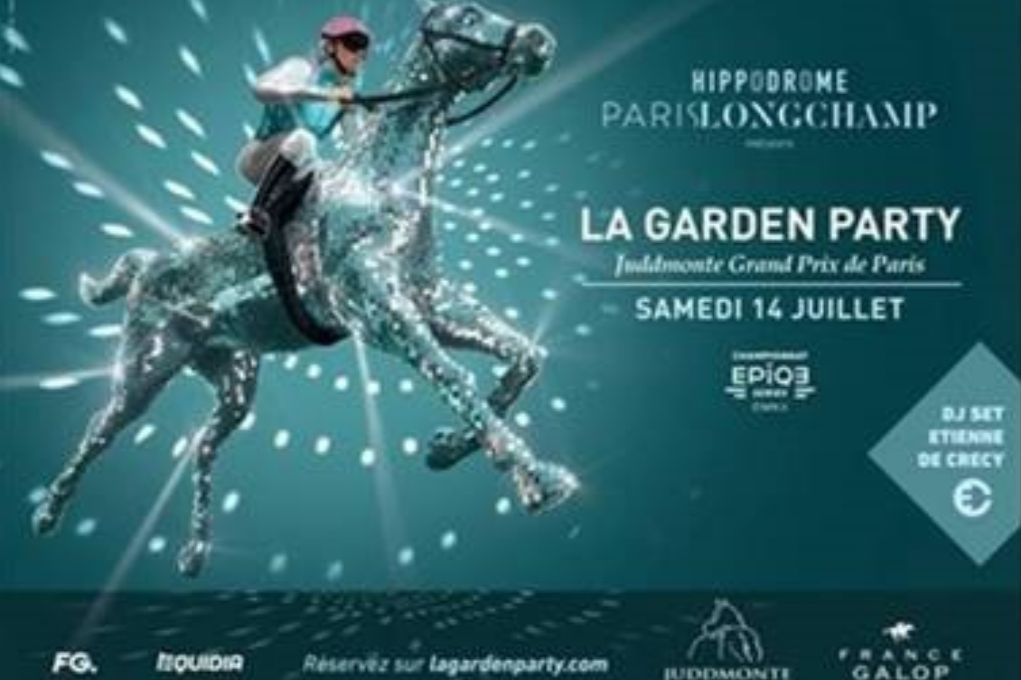 Radio FG présente à la Garden party à Longchamp