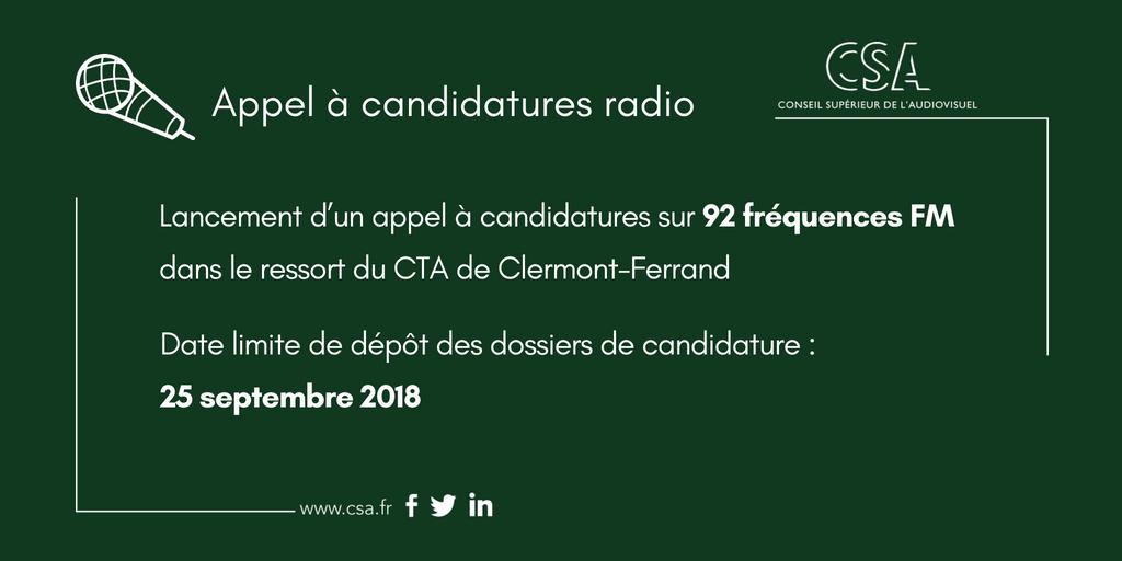 Appel à candidatures en Limousin Auvergne