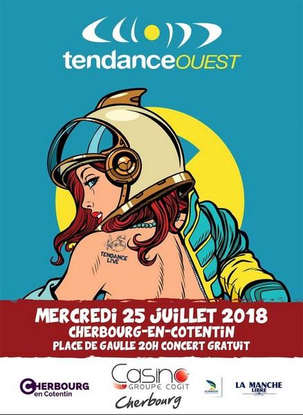 """Tendance Ouest organise un """"Tendance Live"""" à Cherbourg"""