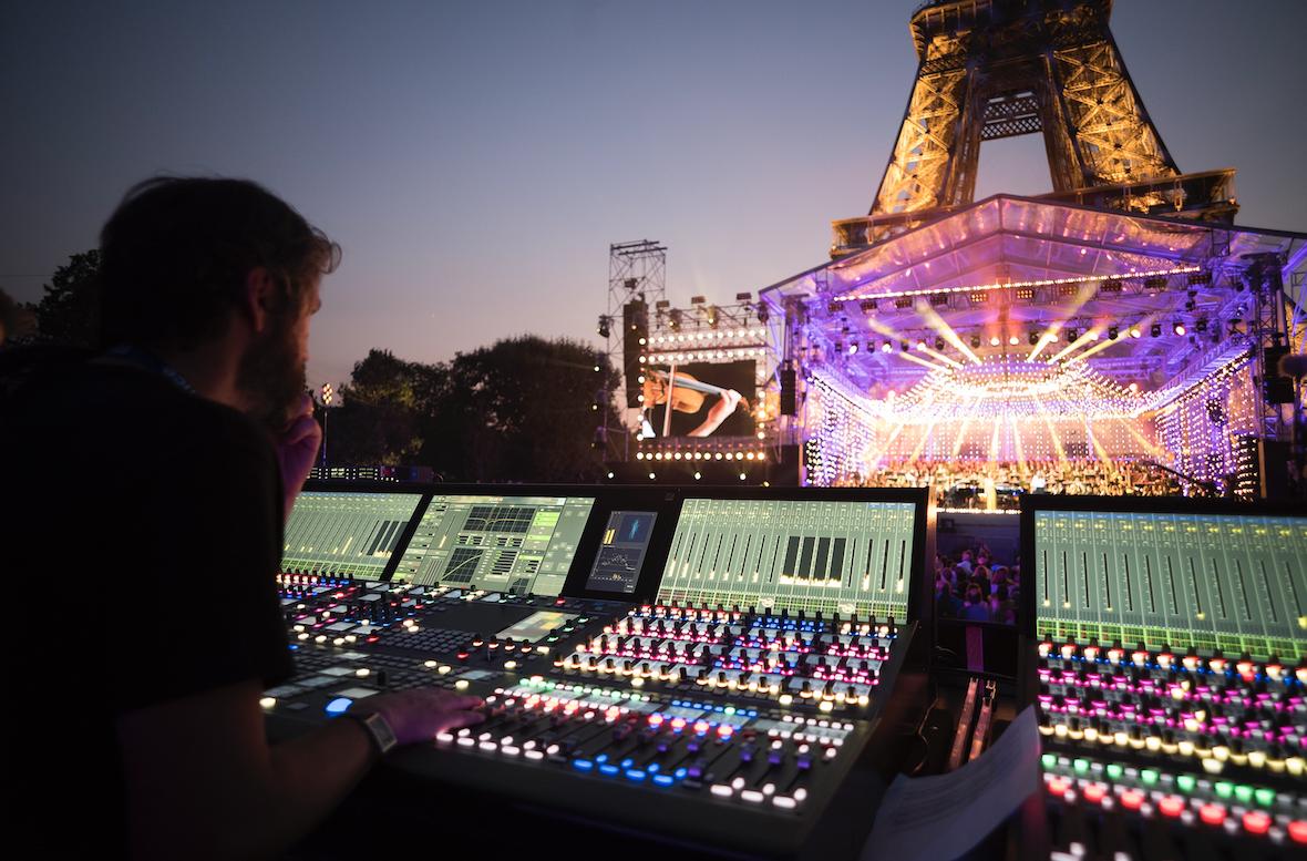 Lawo a été un artisan de la réussite du dernier Concert de Paris ©Christophe Abramowitz / Radio France