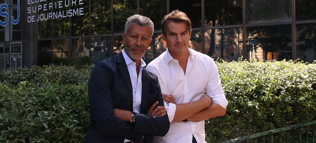 La mastère est dirigé par Thierry Dagiral (Europe 1) et Rachid M'Barki (BFM TV).