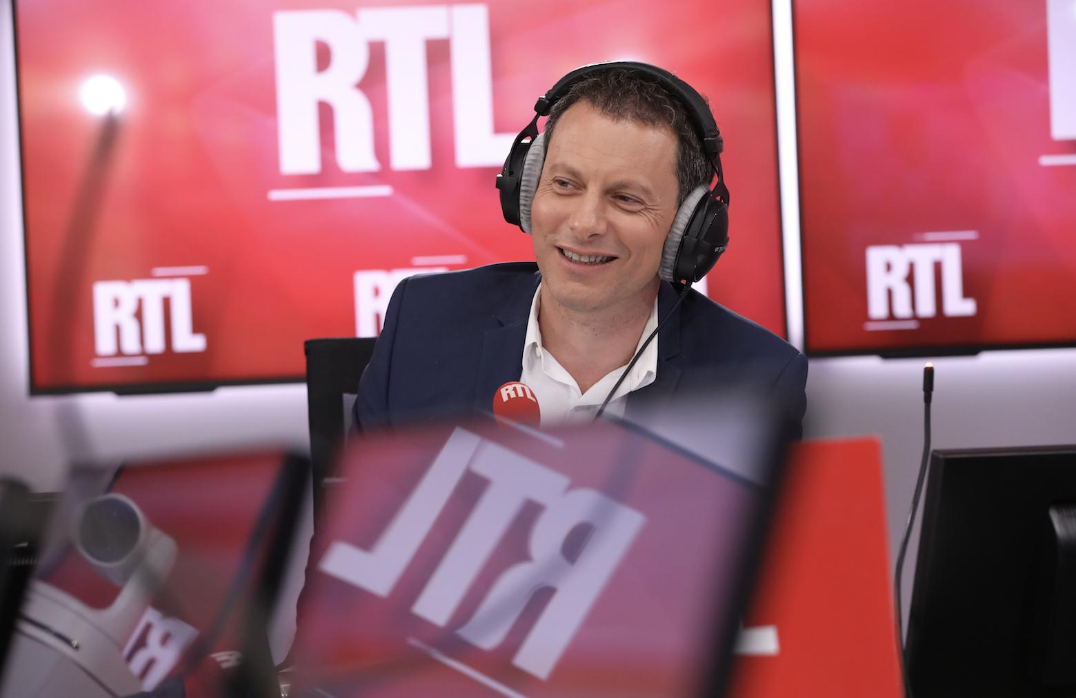 Depuis 2012, Marc-Olivier Fogiel présente le 18h / 20h sur RTL (photo RTL)