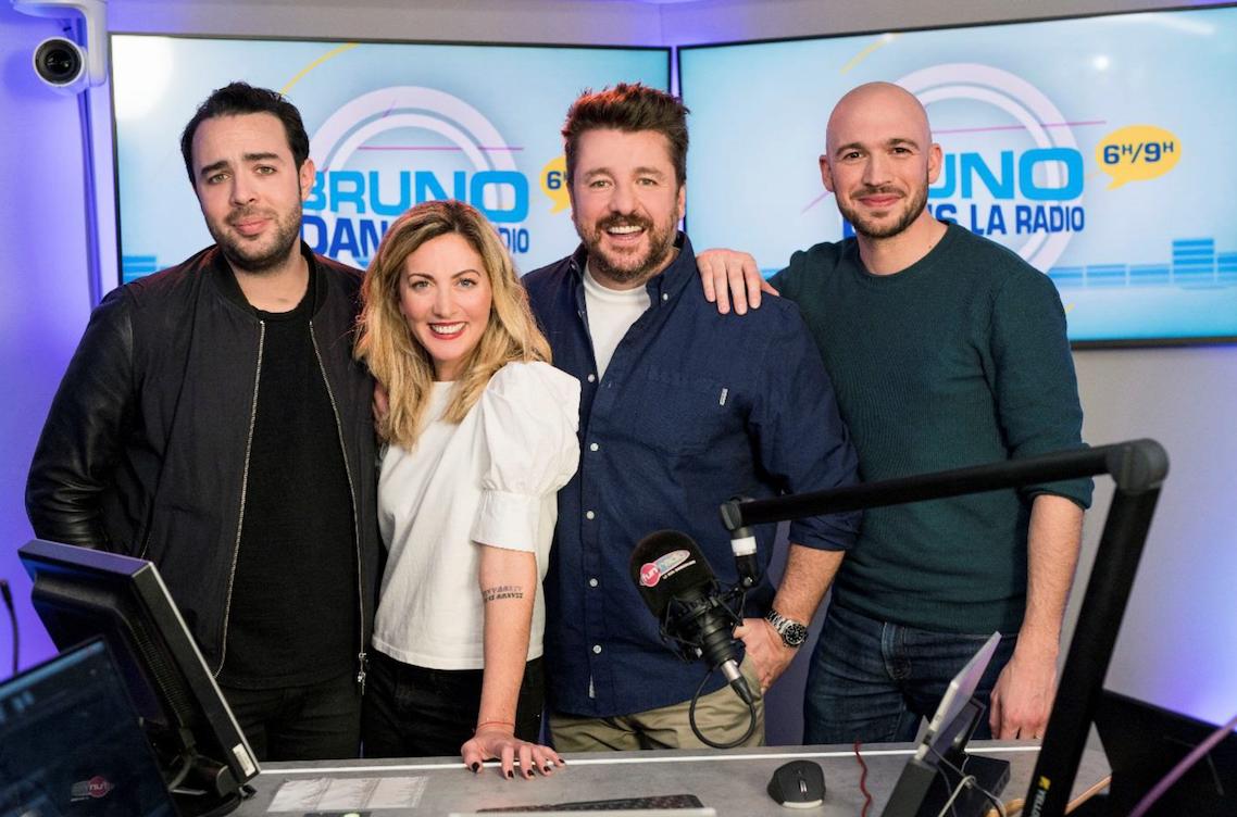 Hier matin, Bruno Guillon et son équipe ont entamé une 8e saison sur Fun Radio