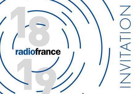 Radio France ouvre le bal ce mercredi.