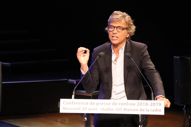 Guy Lagache a fait sa première rentrée à Radio France / Photo : Serge Surpin / La Lettre Pro de la Radio