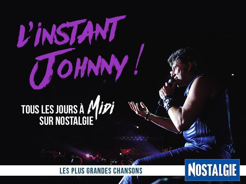 """""""L'Instant Johnny"""" tous les jours sur Nostalgie"""