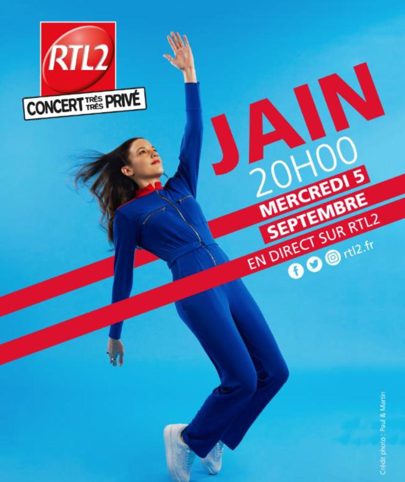 """Nouveau """"Concert Très Très Privé"""" avec RTL2"""