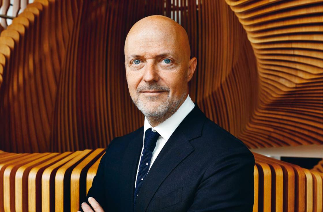 Pierre Louette, ancien PDG de l'AFP, dirige le groupe de presse de LVMH depuis le printemps dernier.