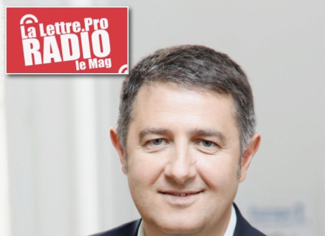 Laurent Guimier en une du magazine de La Lettre Pro de la Radio n°104. Sortie ce jeudi !