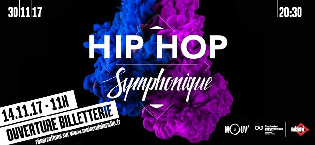 "France 2 diffuse ""Hip Hop Symphonique"""