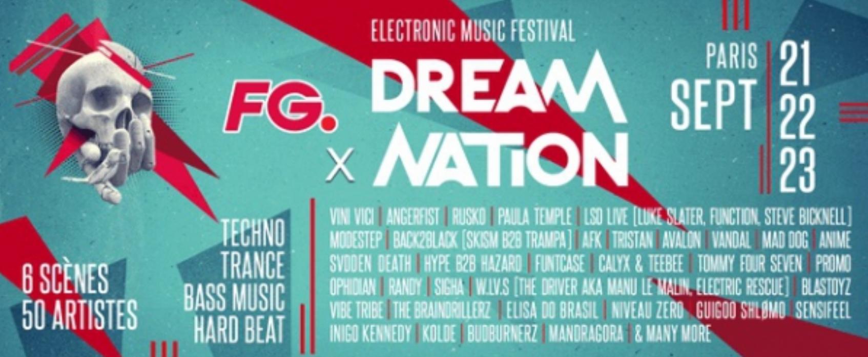 Radio FG partenaire du Dream Nation Festival