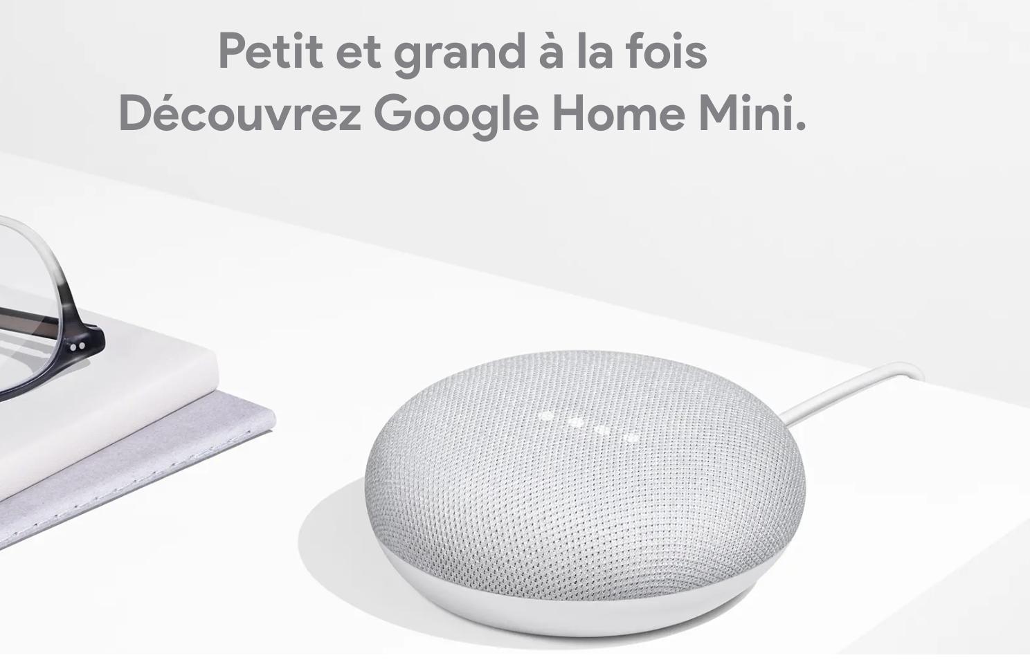 Le Google Home Mini a dépassé Amazon Echo Dot.