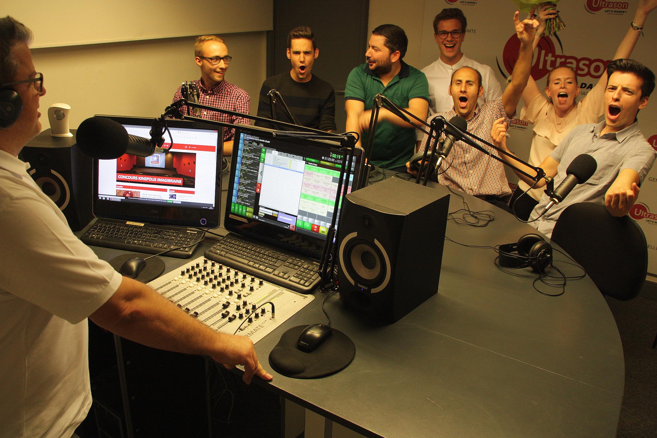 Belgique : la radio Ultrason a pris possession de ses nouveaux locaux