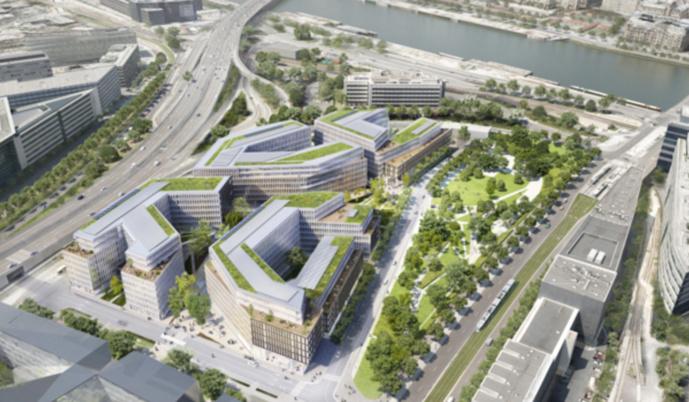 SFR, L'Express et Libération ont déjà emménagé dans le Altice Campus, avant RMC et BFM ce week-end.