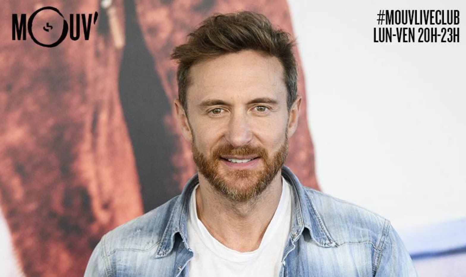 David Guetta : un mix hip-hop exclusif sur Mouv'