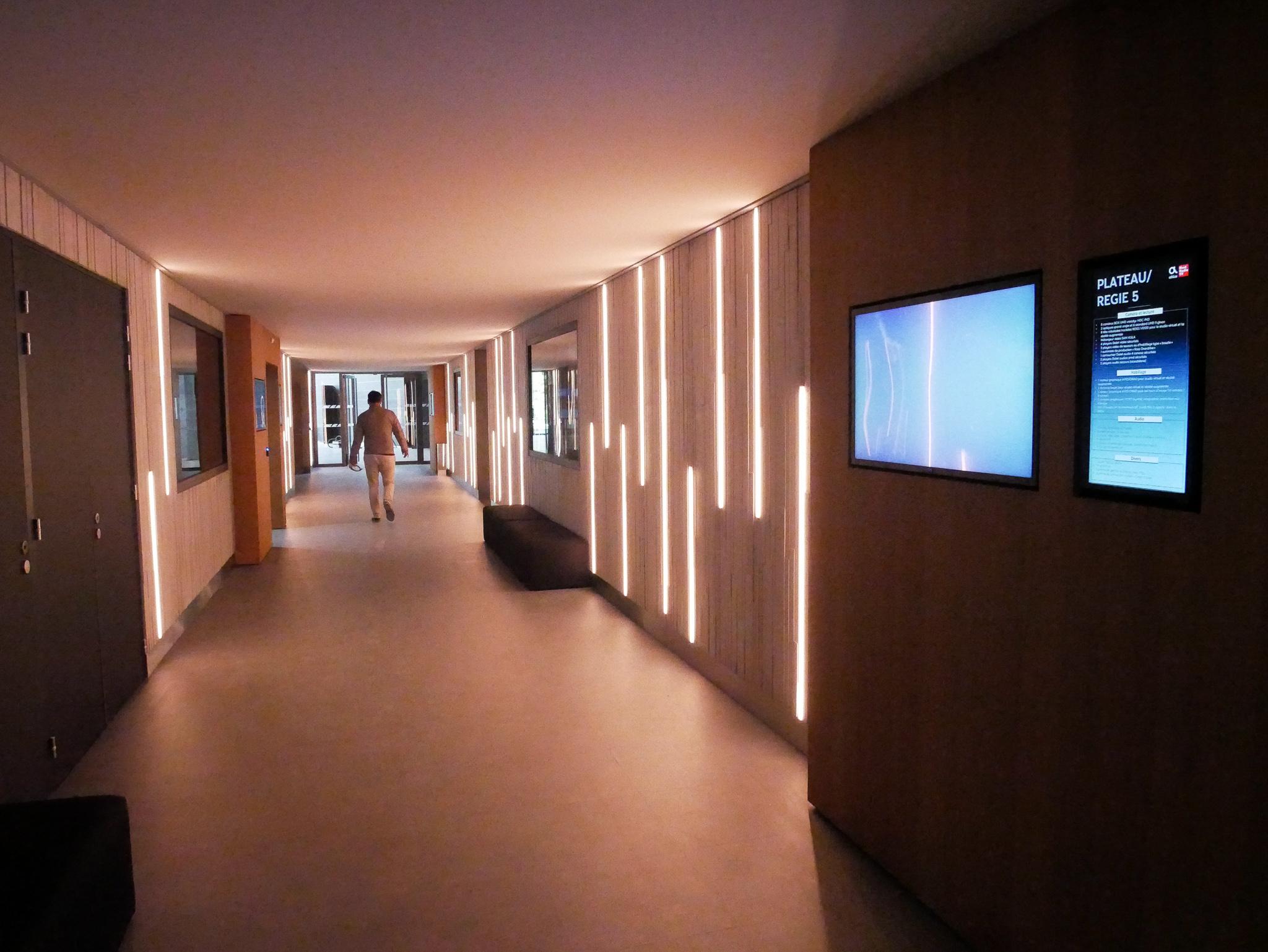 La rue des studios du Campus Altice / Photo François Quairel