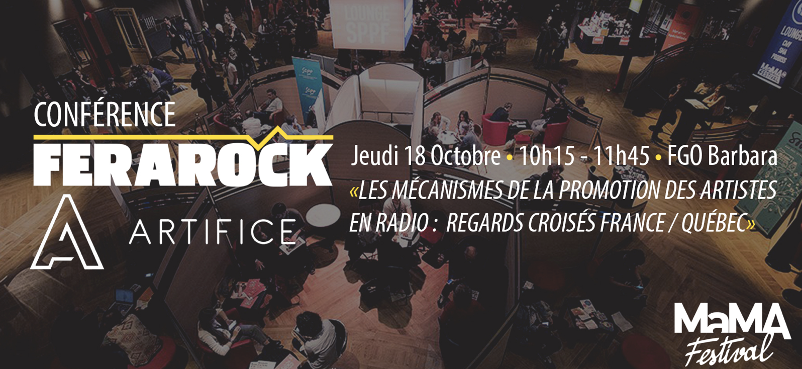 La Ferarock s'intéresse à la promotion des artistes en radio