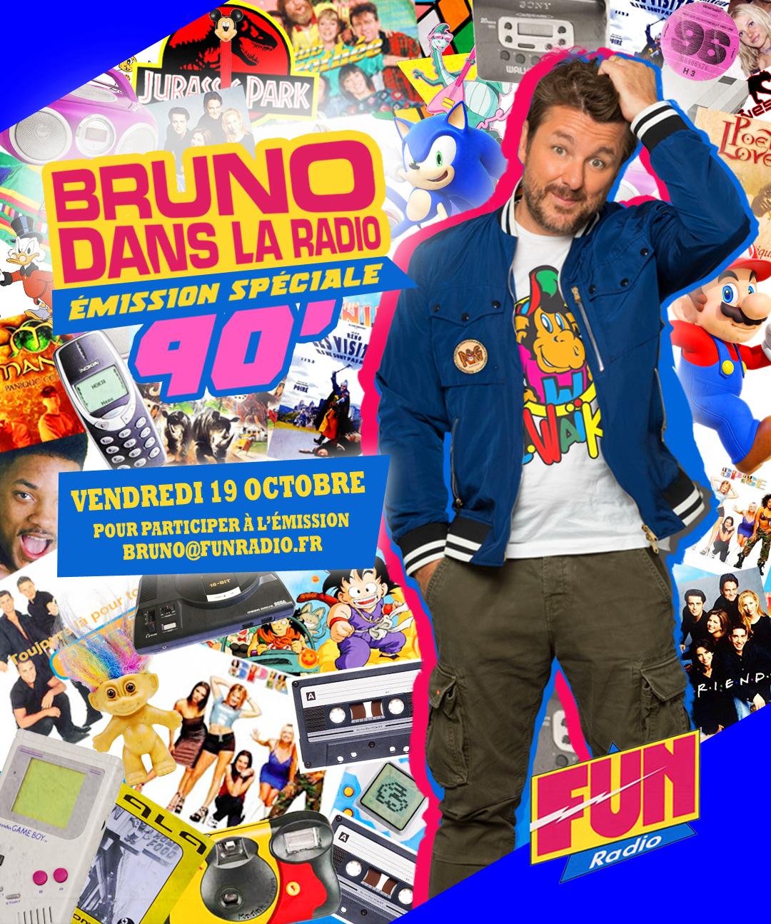 Retour dans les années 90 sur Fun Radio !