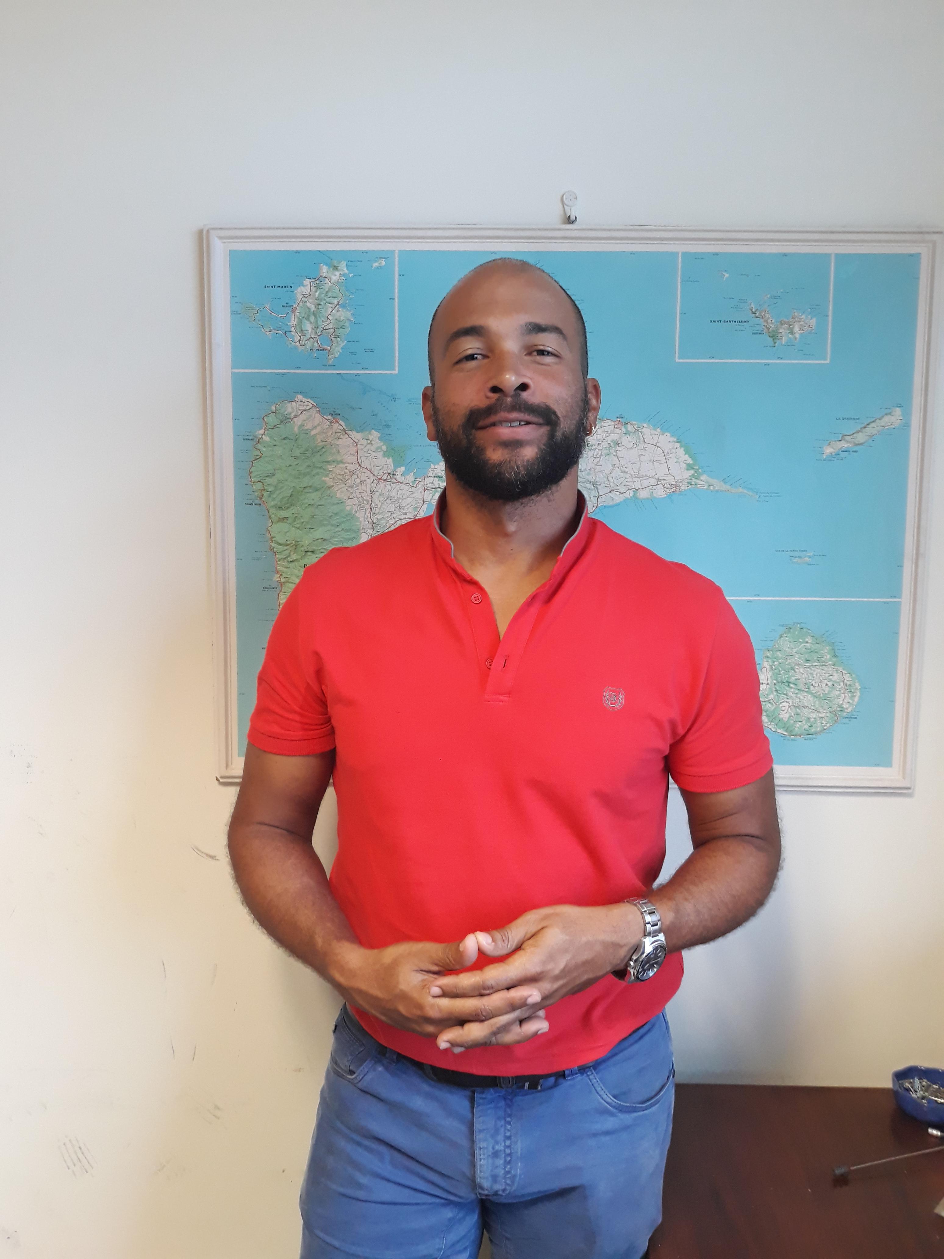 Boris Odry veille sur le CTA d'Antilles-Guyane depuis 2012.