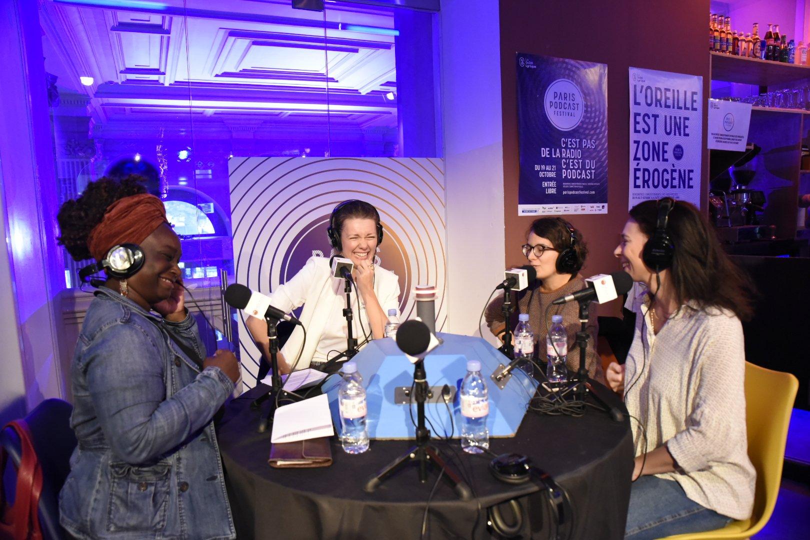 Succès pour la première édition du Paris Podcast Festival. Photo David Dupuis @ParisPodcast