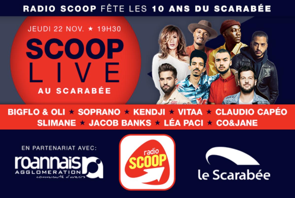"Radio Scoop : un ""Scoop Live"" à Roanne"