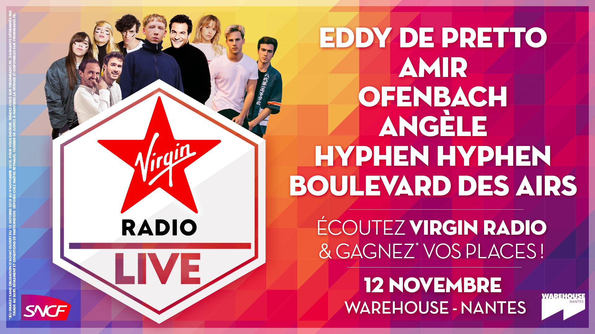 """Un """"Virgin Radio Live"""" à Nantes"""