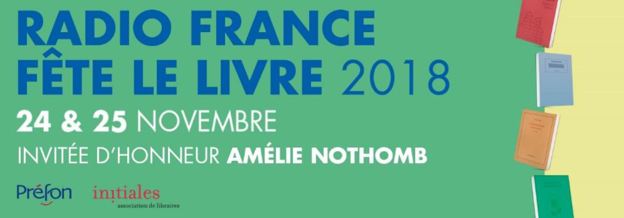 Ce week-end, Radio France fête le livre