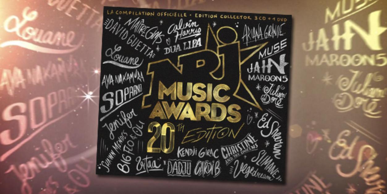 """La compilation NRJ Music Awards"""" est """"Disque d'Or"""""""