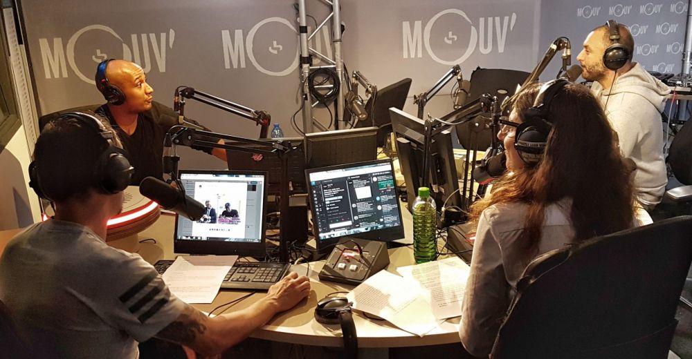 Selon Yacast, Mouv' diffuse 77% de rap avec une programmation à 84% de nouveautés. ©Mouv'