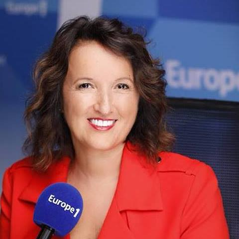 Anne Roumanoff officie sur Europe 1, du lundi au vendredi, de 11h à 12h30. @Europe 1