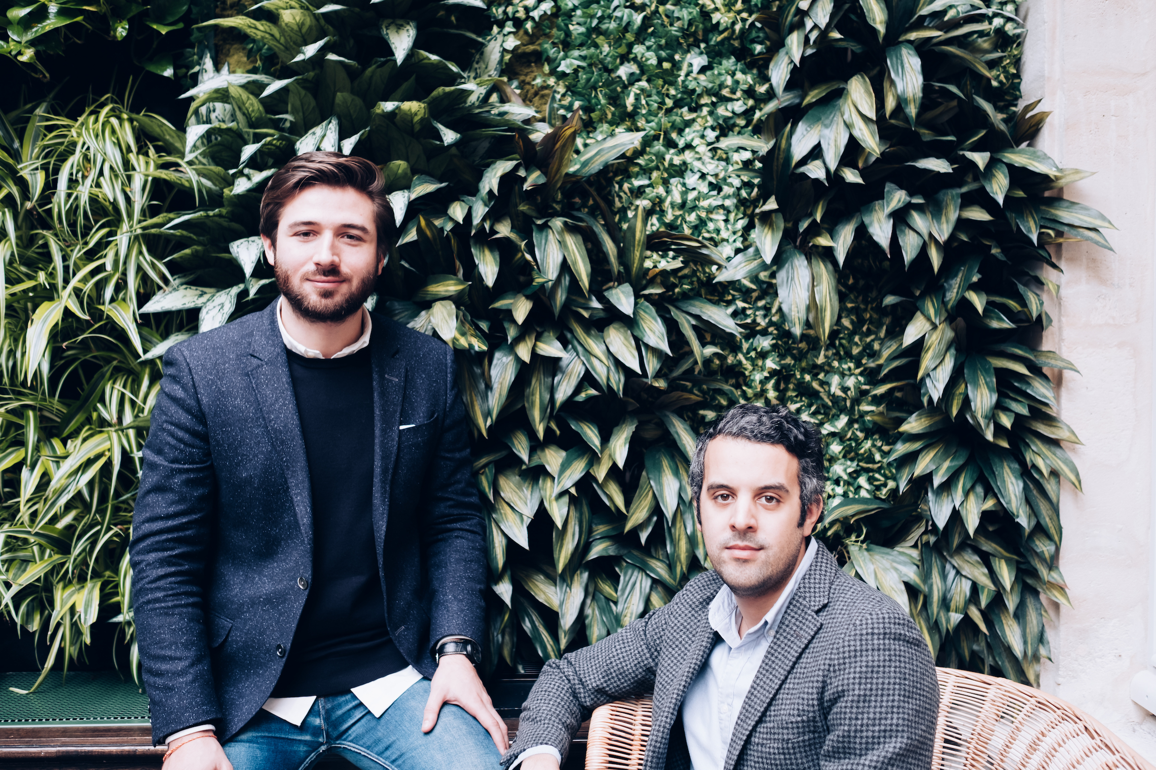 Arthur Larrey et Kamel El Hadef, fondateurs d'Audion. Audion surfe sur ce nouvel engouement autour du podcast.