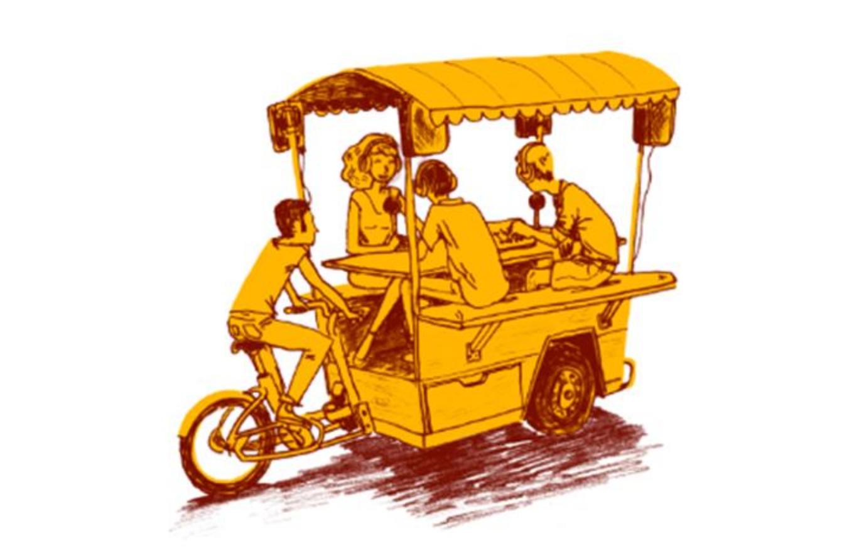 Radio Méga veut réaliser, et utiliser, le premier studio radio sur un vélo triporteur