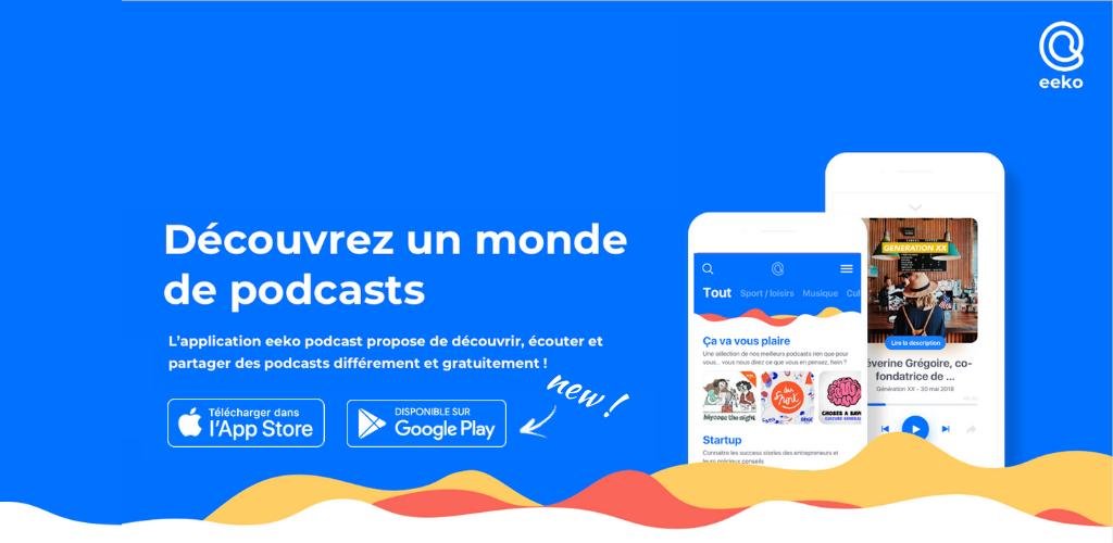 Eeko Podcast veut recommander les podcasts