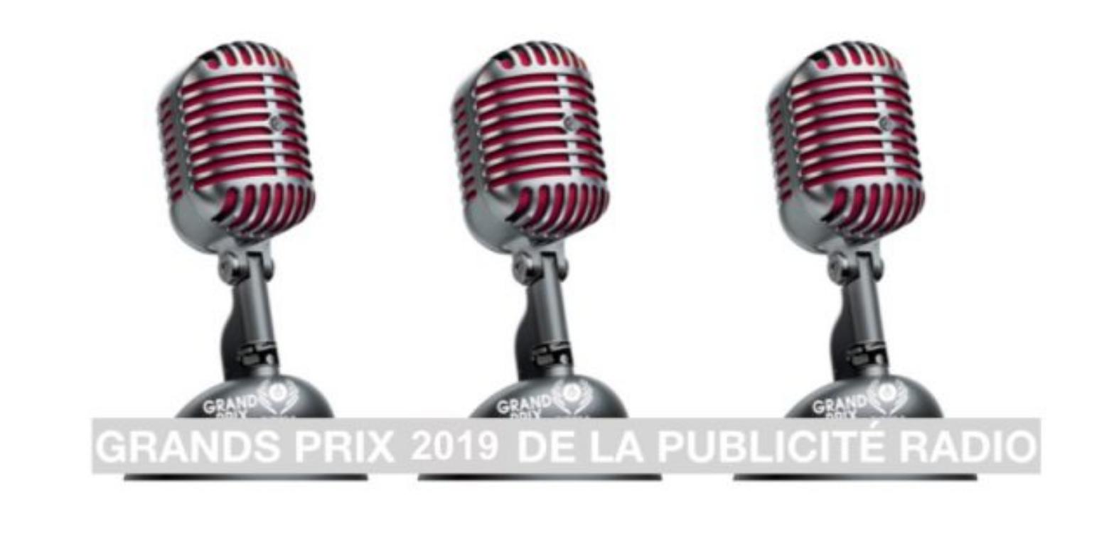 Inscrivez-vous aux Grands Prix Radio de la pub 2019
