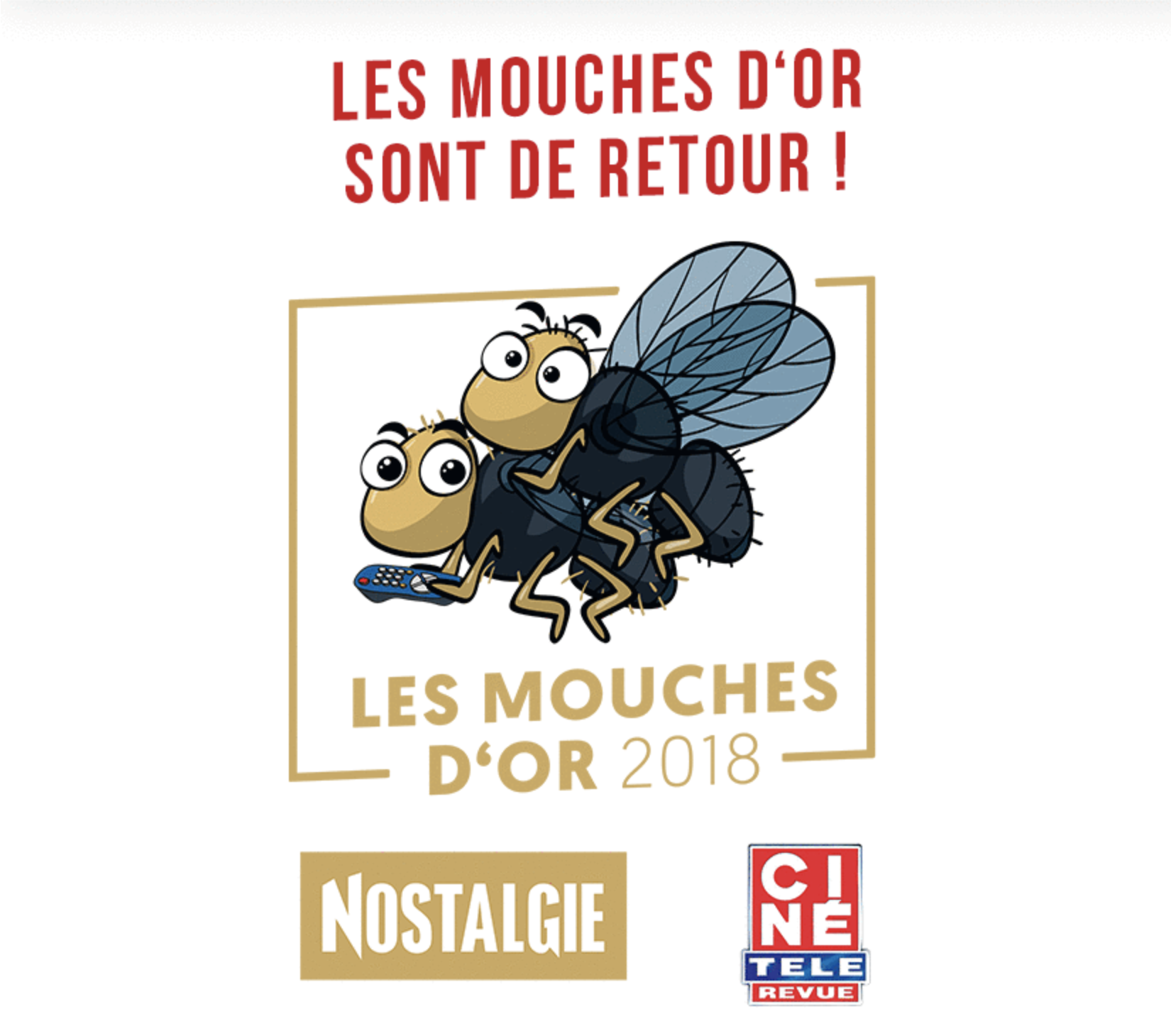 """Belgique : Nostalgie organise la cérémonie des """"Mouches d'or"""""""