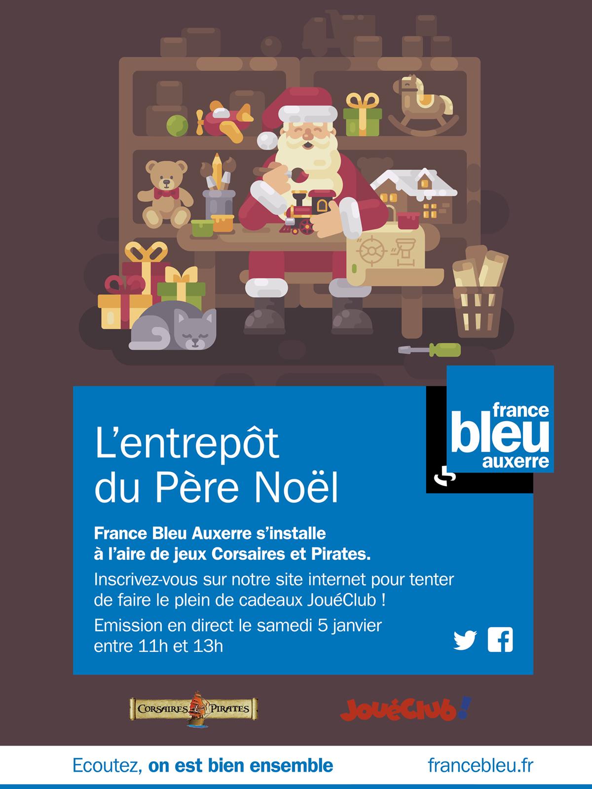 France Bleu Auxerre prolonge la magie de Noël