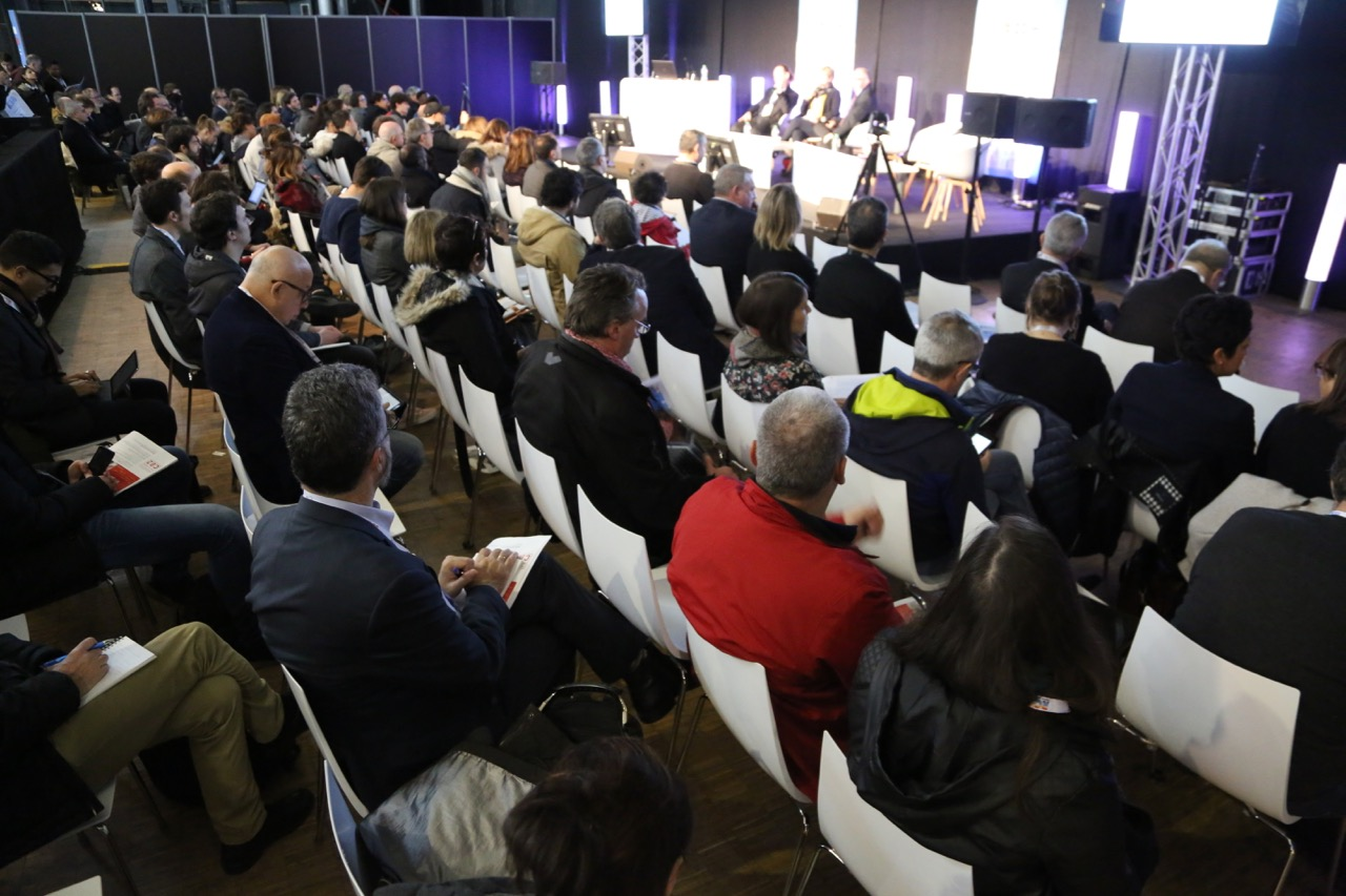Salle comble au Salon de la Radio et de l'Audio Digital en 2018. © Serge Surpin