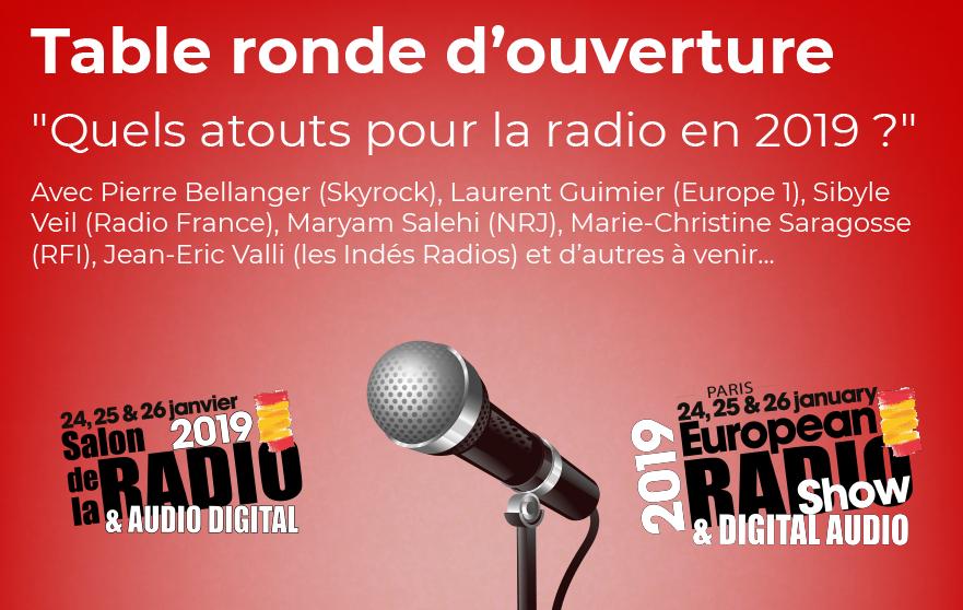Salon de la Radio et de l'Audio Digital 2019 : 10 conférences incontournables