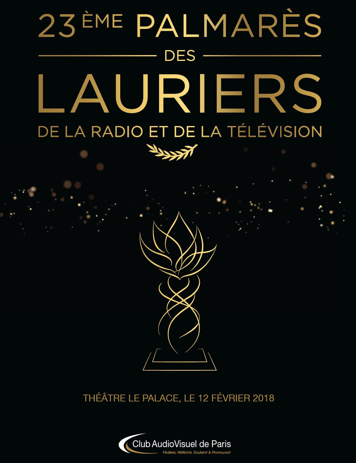 Nouvelle cérémonie des Lauriers de l'Audiovisuel