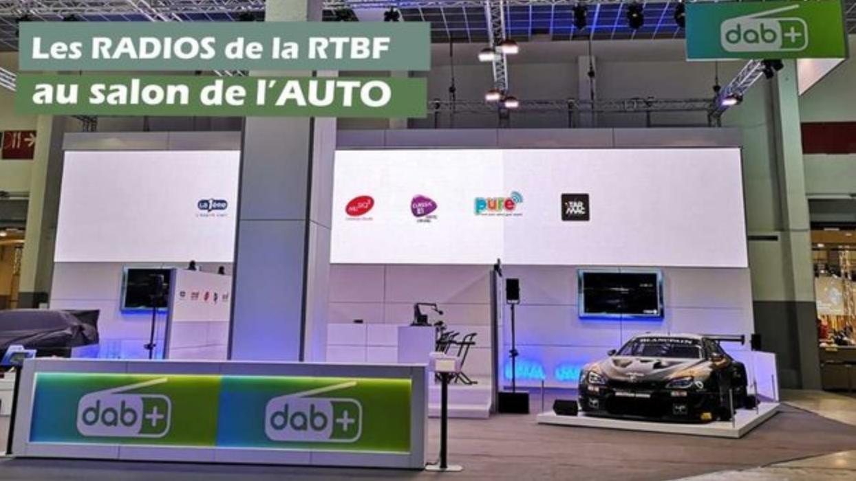 Bruxelles : les radios de la RTBF au Salon de l'Auto 2019