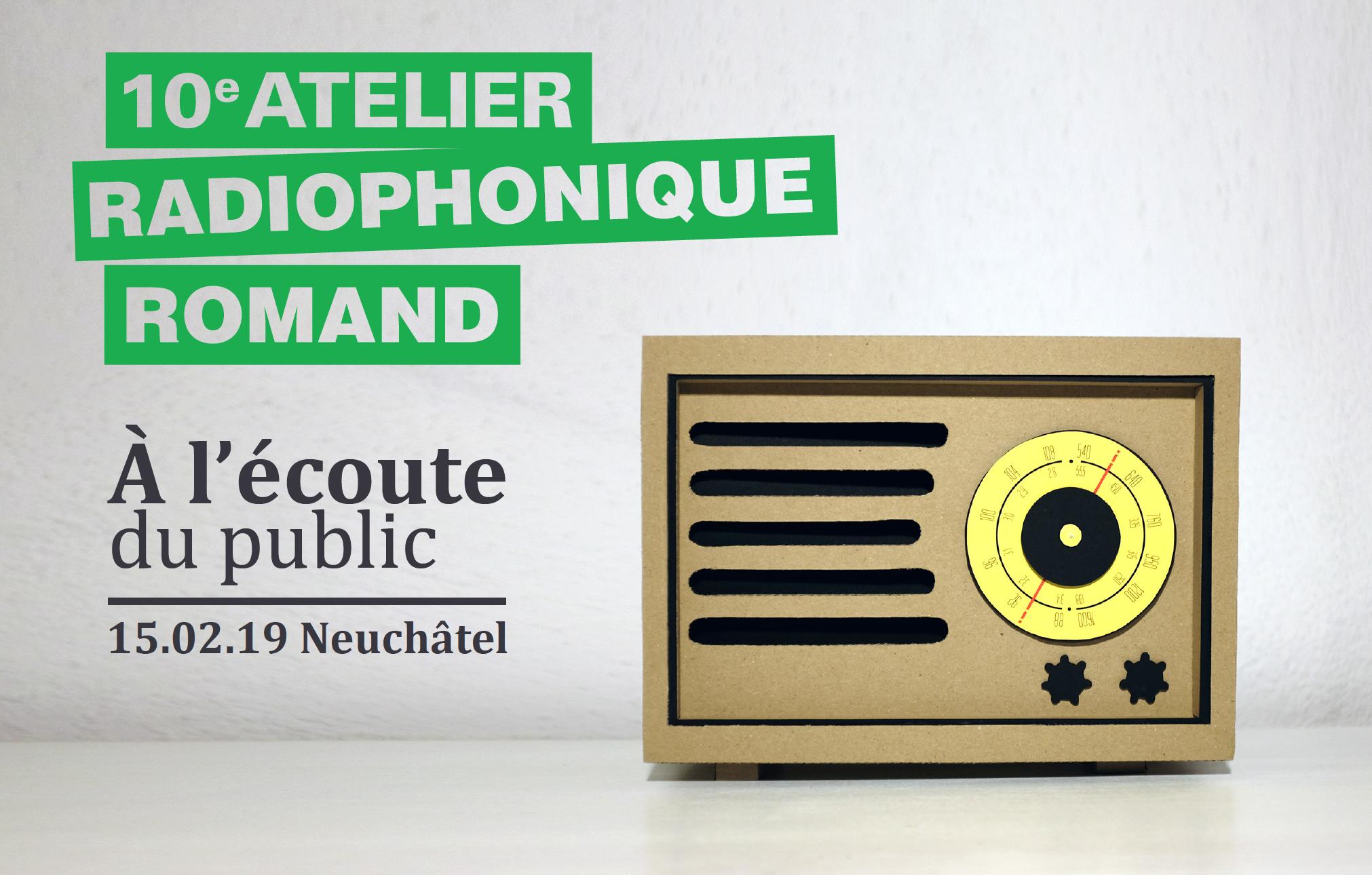Le public au coeur du nouvel Atelier Radiophonique Romand