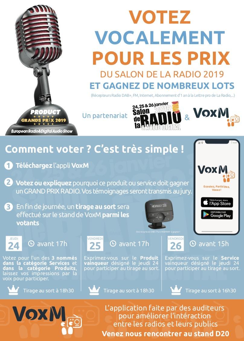 Salon de la Radio : votez pour les Grands Prix Radio 2019