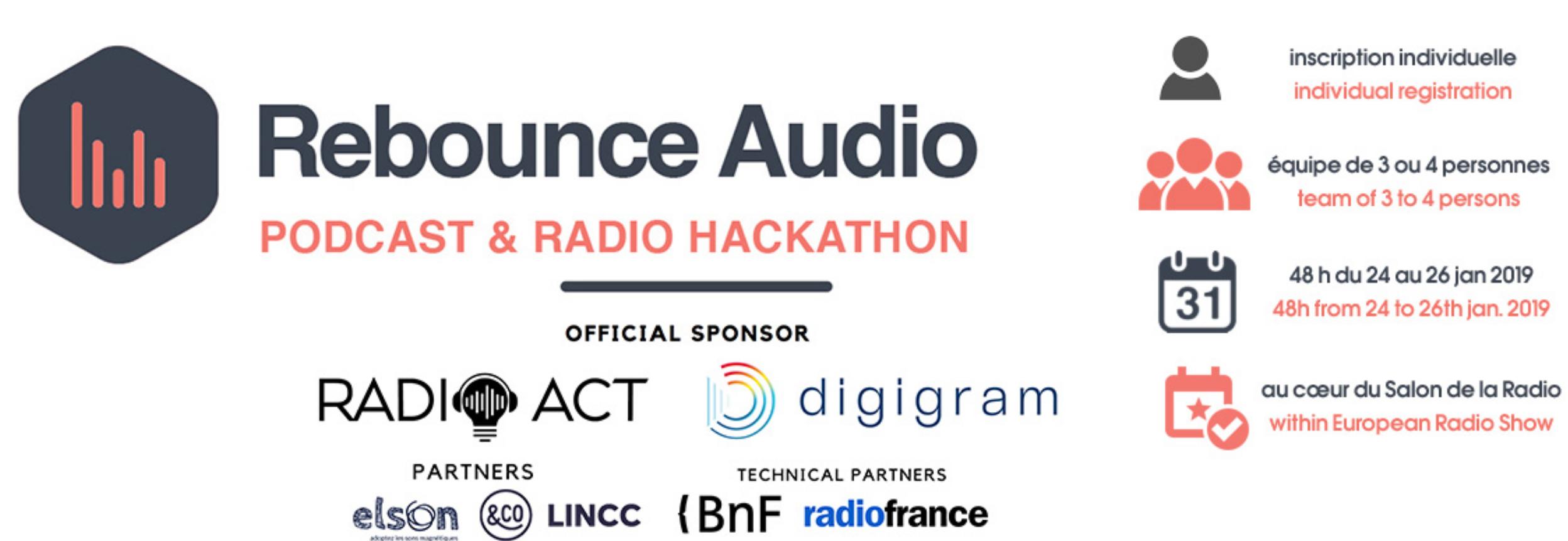 Salon de la Radio : pourquoi participer au Hackathon ?