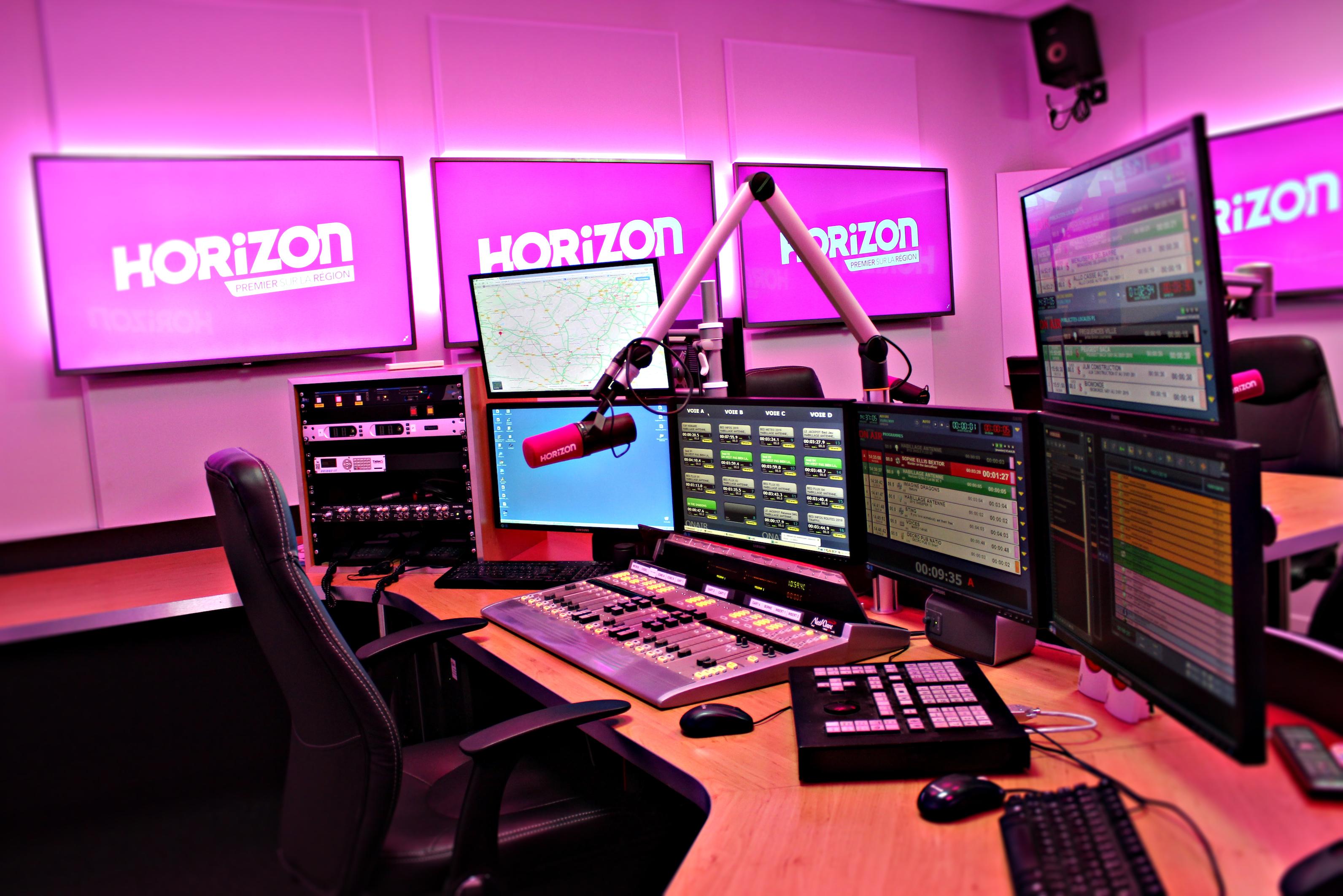 Horizon s'offre un nouveau studio