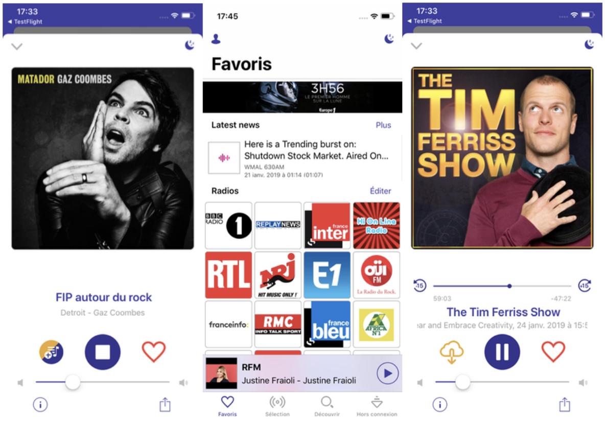 Radioline lance une version mobile Premium inédite sur mobile