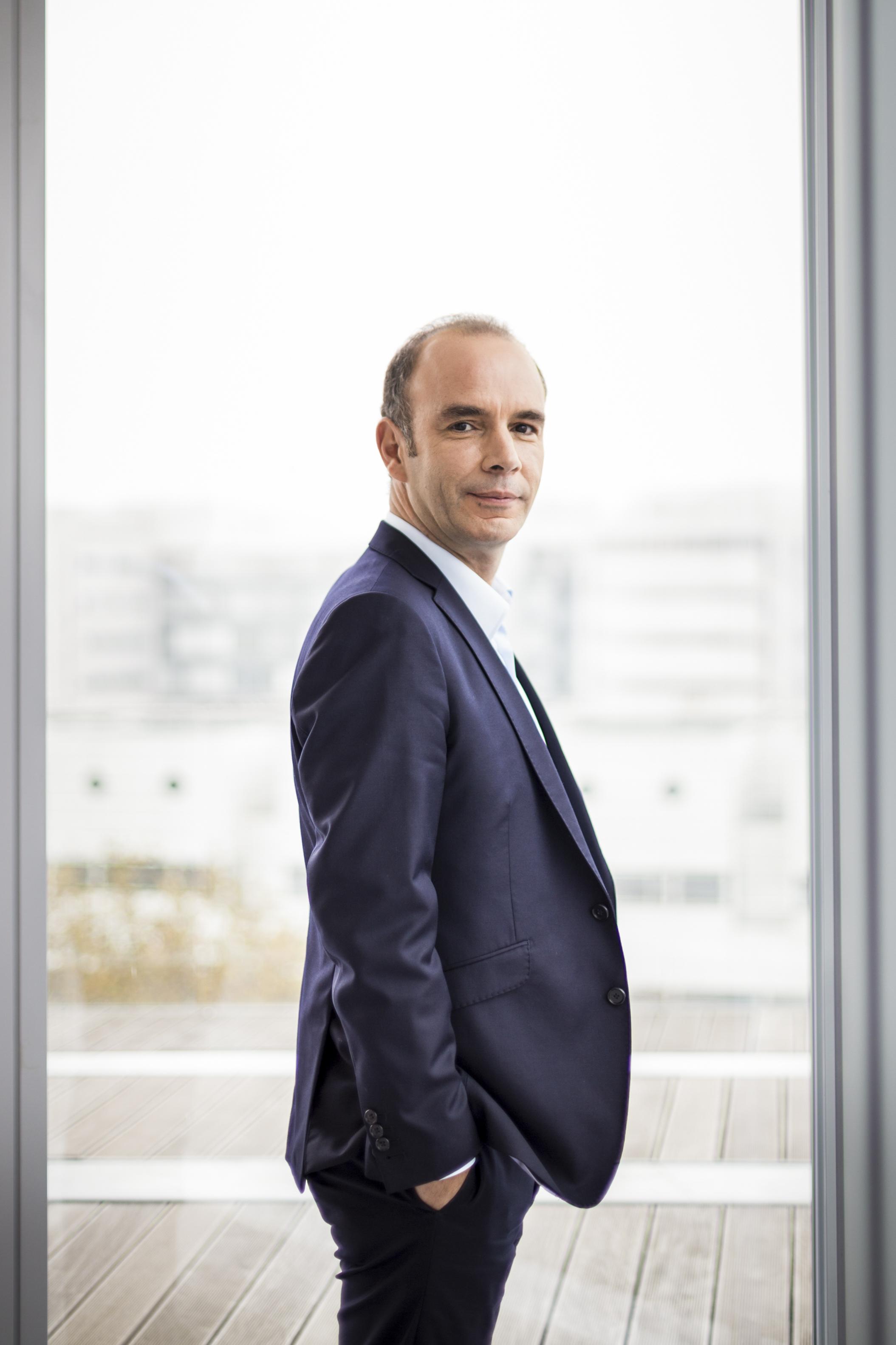 Pierre-Henry Médan dirige Next Média Solutions (ex NextRégie), la régie des médias du groupe Altice (BFM, RMC, Libération, L'Express...)