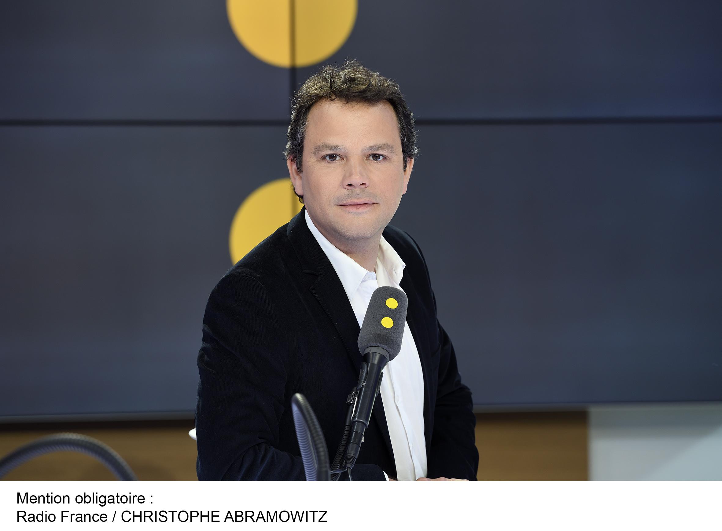 Marc Fauvelle est diplômé du CUEJ à Strasbourg depuis 1998. Il a commencé sa carrière à France Bleu Alsace avant de rejoindre Radio France Multimédia, puis France Info et France Inter. / Photo CA Radio France